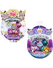 Hatchimals 6047212 Colleggtibles Royal Multipack with 4 Hatchimals and Accessories, Assorted
