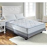 Ashley Furniture Signature Design - Ashley Sleep - Plush Inner Spring Kids Mattress - Traditional Twin Size Mattress - Blue