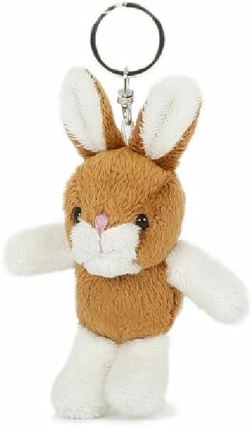 Unbekannt Schlüsselanhänger Hase Aus Plüsch Tier Tiere Kaninchen Häschen Spielzeug