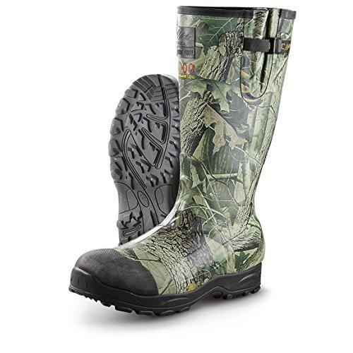 Itasca Mens Swampwalker 400g Gummi Jakt Boot