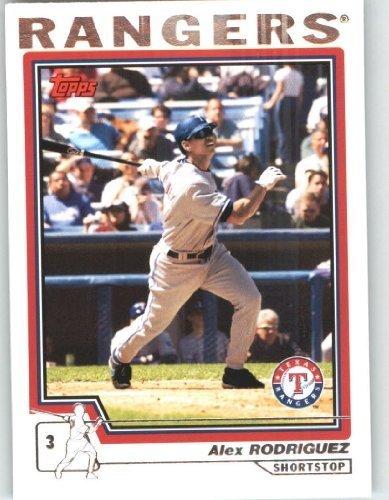 - 2004 Topps Baseball Card # 100 Alex Rodriguez - Texas Rangers - MLB Trading Card