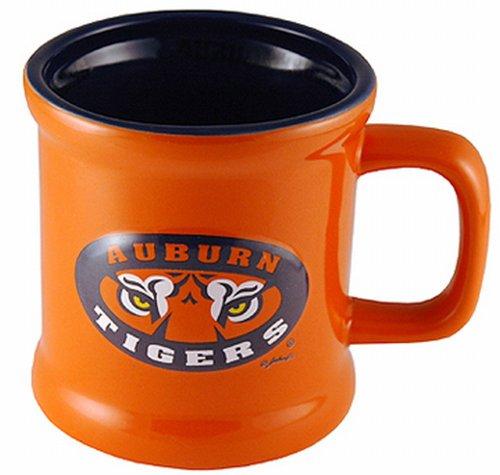 (NCAA Auburn Tigers Ceramic Relief Logo Mug)