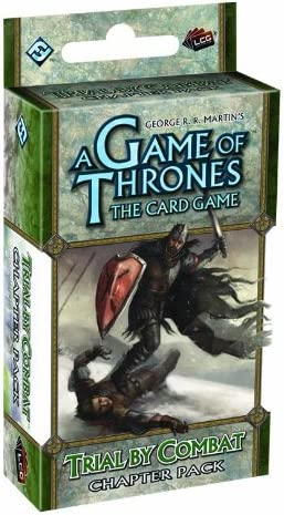 A Game of Thrones LCG Trial by Combat Chapter Pack New