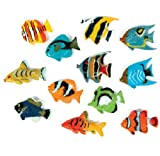small plastic fish - Tropical Fish Luau Party Favors (1 DZ)