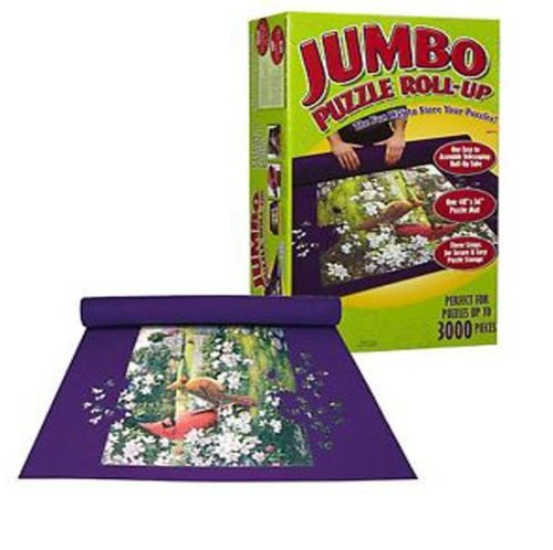 BRAND NEW GIANT JUMBO JIGSAW ROLL UP PUZZLE STORE STORAGE MAT TUBE UP TO 3000 PIECES by OnlineDiscountStore