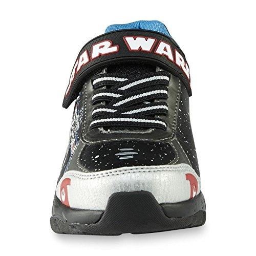Star Wars Kinder Jungen Turnschuhe Blink Licht Schuhe Death Star
