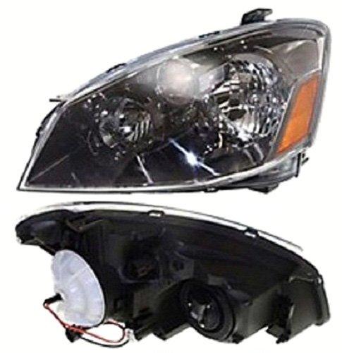Headlight Fits 2005-2006 Nissan Altima Front Bumper Lamp Driver Side NI2502156