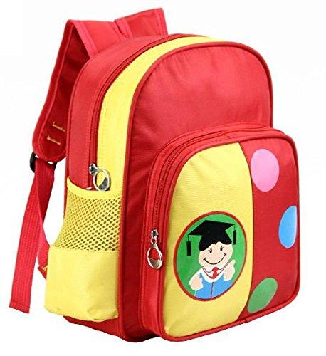 VICTORIACROSS Little Doctor Kid's Students kindergarten nursery school child care center light weight schoolbag Daypack Backpack daypack for little boy girl VCAL34B-RED