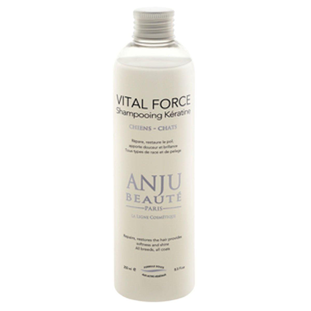Vital Force Shampooing pour chien Keratine 250ml de Anju Beaute