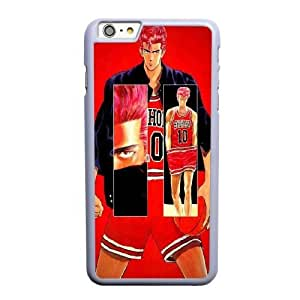 Generic Fashion Hard Back Case Cover Fit for iPhone 6 6S plus 5.5 inch Cell Phone Case white slam dunk FEW-7900669
