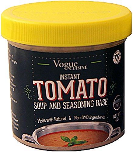 (Vogue Cuisine Tomato Soup & Seasoning Base 4oz - Reduced Sodium & Gluten Free)