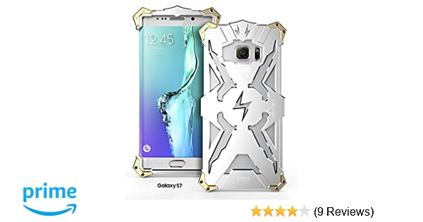 Galaxy S7 Case, Lwang Aviation Aluminum Anti-scratch Strong Protection Metal Case for Galaxy S7, Hollow Design Full Signal Samsung Galaxy S7 Thor Case ...