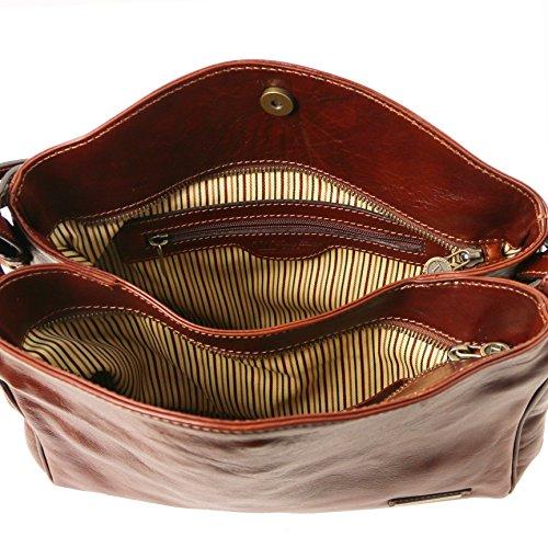 Tuscany Leather Sara - Borsa a tracolla in pelle - TL141474 (Testa di Moro) Miele