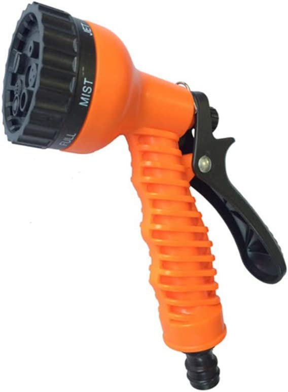 YUIOLIL Garden Hose Expandable High-Pressure Car Wash Water Gun Water Tools Home Kit,150Ft 100ft