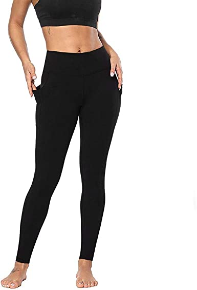 Gofodn Ladies Yoga Pants For Women High Waisted Uk Plus Size Solid Elastic Force Home Sports Gym Running Work Out Legging Yoga Trousers Amazon Co Uk Clothing