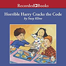 Horrible Harry Cracks the Code Audiobook by Suzy Kline Narrated by Johnny Heller