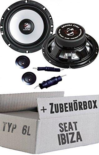 Seat Ibiza 6L - delantera y trasera O. Ground Zero gzic 650 x - 16 cm sistema de altavoces de: Amazon.es: Electrónica