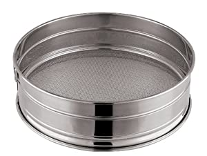 Paderno World Cuisine 8-5/8-Inch Stainless-Steel Fine Mesh Flour Sieve from Paderno World Cuisine