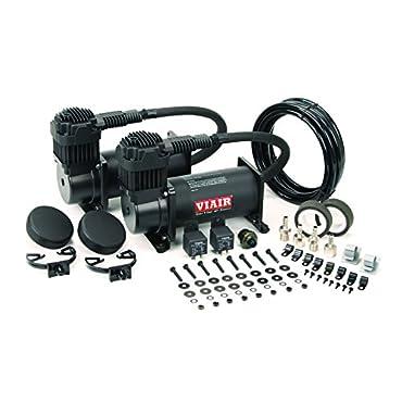 VIAIR 40048 400C 150 PSI Dual Value Pack-Stealth Black
