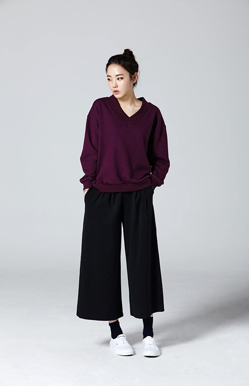 2NEFIT Women's Casual Fit Wide Leg Crop Pants