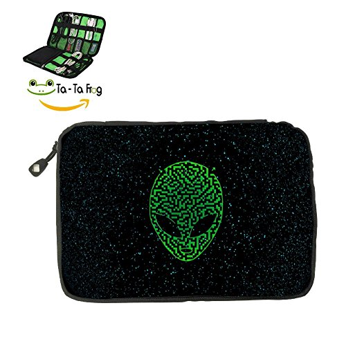 Westworld Maze Map Fashion 3D Printing Electronics Accessories Organizer Bag,Portable Tech Gear Phone Accessories Storage Carrying Travel Case bag, Headphone Earphone Cable Organizer bag