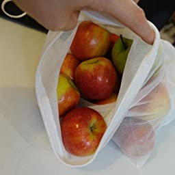Amazon com: FLIP AND TUMBLE - Reusable Produce Bags