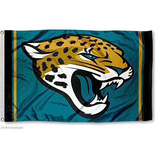 Jacksonville Jaguars Large NFL 3x5 Flag