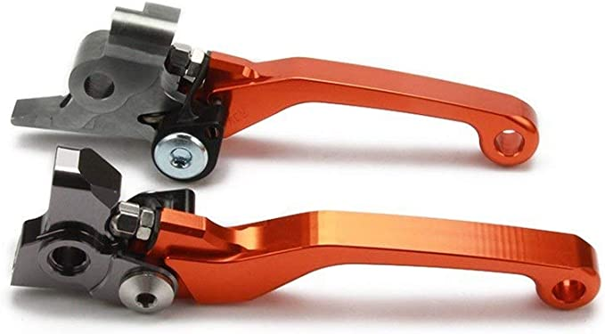 Levier de moto 2020 CNC dembrayage du levier de frein Fit For KTM EXC EXCF six jours EXCR XC XCF XCW XCFW SX SXF 144 150 200 125 250 300 350 450 500 Color : Black