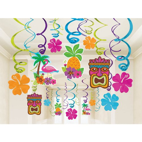 Amscan Sun Sational Summer Tropical Decorations product image