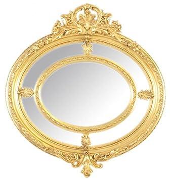 Casa Padrino Barock Wandspiegel Rund Gold 130 X 130 Cm Edel