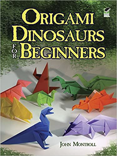 Origami Dinosaur - How to make an Origami Flying Dinosaur ... | 499x374