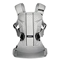 Baby Carrier One - Silver, Mesh