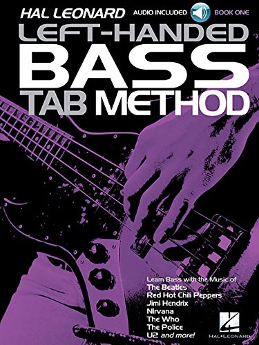 Hal Leonard Left-Handed Bass Tab Method - Book 1