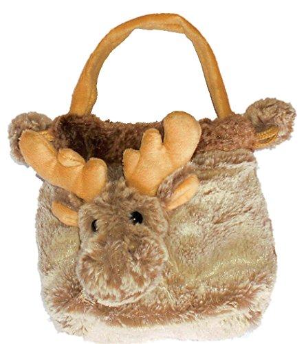 Inware 6802 - Beutel Elch Carlo, beige/meliert, Tasche, Handtasche
