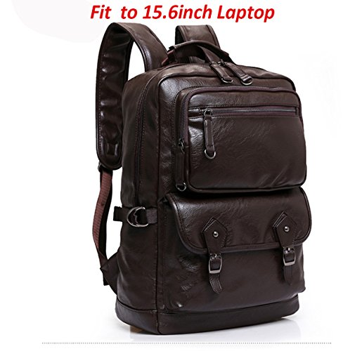 Travel Outdoor Computer Backpack Laptop bag 15.6'' (brown) - 9