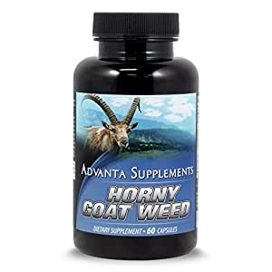 Horny Goat Weed with Maca Root Extract 1000mg by Advanta Supplements