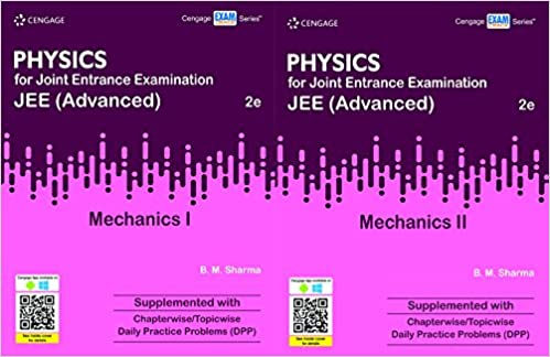 Physics for Joint Entrance Examination JEE (Advanced) Mechanics I & 2 Cengage Latest Edition