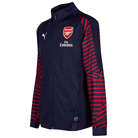 Amazon.com : PUMA 2018-2019 Arsenal Stadium Jacket (Peacot ...