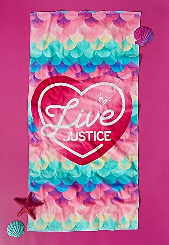 Justice Live Beach Towel, Weekender Bag, and Bonus Free Rose Gold Aviator Sunglasses! by Shop Justice (Image #4)