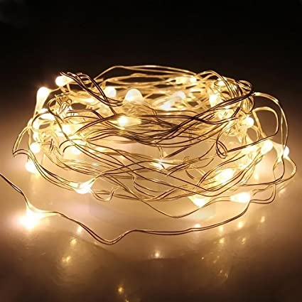 Amazon string lights sokaton 10ft3m warm white 30 led starry string lights sokaton 10ft3m warm white 30 led starry string lights battery operated aloadofball Image collections