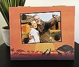 Sunset Safari - Magnetic Picture Frame Handmade Gift - Best Reviews Guide