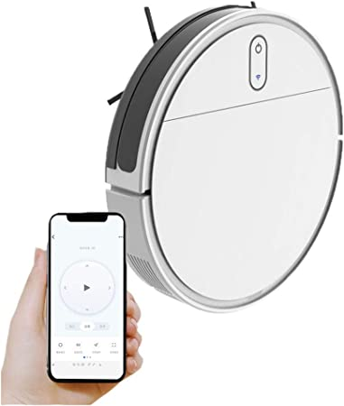 Robot Aspirador 1200 Pa, App con Mapa,Barre, Friega Y Pasa La Mopa, Cepillo para Mascotas, Alexa Y Google Home,Blanco: Amazon.es: Hogar