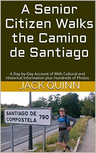 Senior Citizen Walks Camino Santiago ebook product image