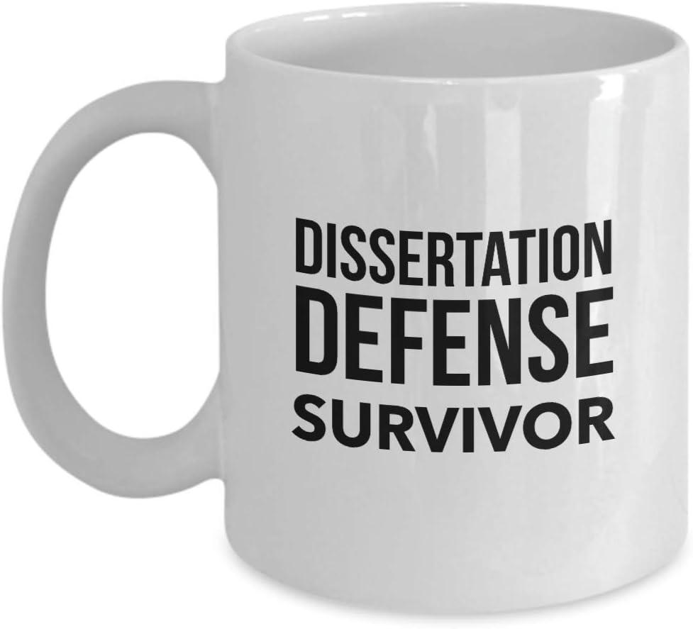 Amazon.com: Phd Doctorate Graduation Gifts Defense Party Dissertation  Graduate School Doctoral Funny Coffee Mug: Kitchen & Dining