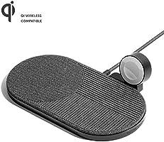 Native Union Chargeur sans Fil Drop XL (édition Watch) – Base de Charge pour Plusieurs appareils compatibles avec iPhone...