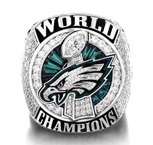 - A.TATOON AE 2017-2018 Philadelphia Eagles ring Championship ring Sz. 7-15 F (13)