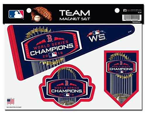 Rico Industries, Inc. Rico Industries, Inc. Boston Red Sox 2018 World Series Champions Multi Die Cut Magnet Sheet Heavy Duty Auto Home Baseball price tips cheap