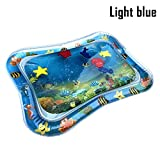 Martinimble 1 Pcs Baby Kids Inflatable Water Mat Patted Play Pad Cushion Toys Early Education