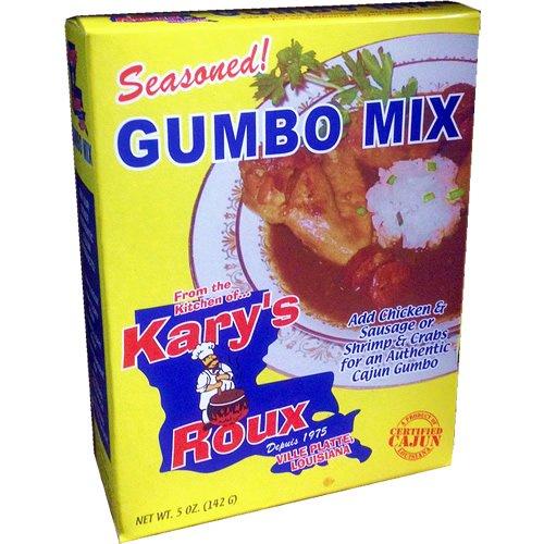 Kary's Roux Seasoned Gumbo Mix 5 oz