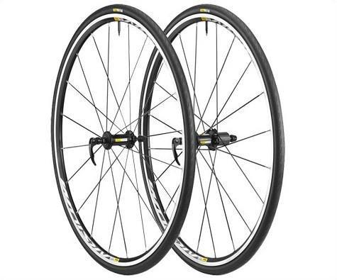 Mavic Aksium Elite 25 Wheelset PR M-25 Black